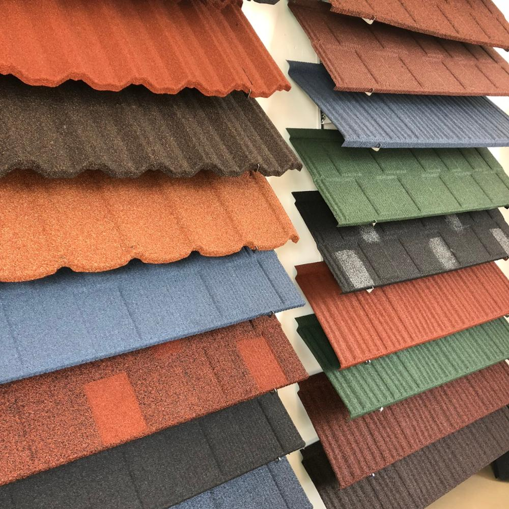 Clay Roofing Sheet/copper Colored Metal Roofing Tile From ...