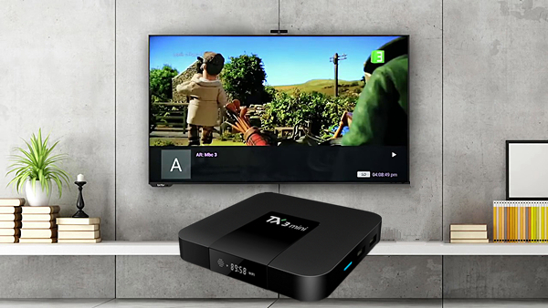 Neue Produkt TF kartenleser S905W octa core neuesten smart satellite internet 4k 2gb 16gb tx3 mini box tv