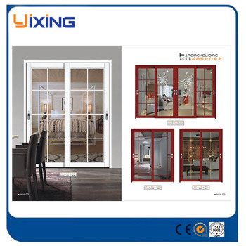 Wholesale china factory top hung glass sliding door buy for Top hung sliding glass doors