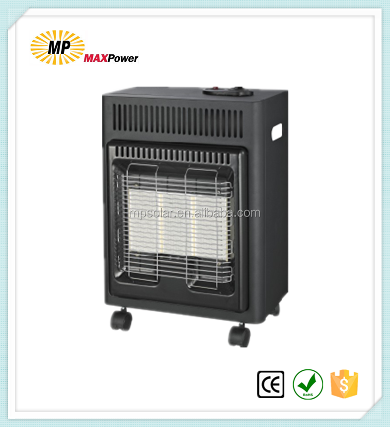 Small size LPG mobile gas heater with promotion price for room use