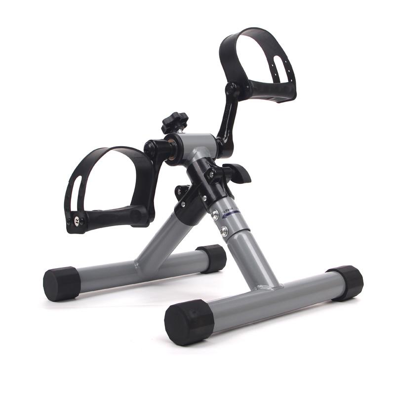 Resistencia Ajustable Sehrgo ZEHNHASE Mini Bicicleta Est/ática Pedal ejercitador Brazo y Pierna del Ciclo de la Bici de Ejercicio con Pantalla LCD Plata