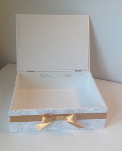 Wedding Memory Keepsake Box Personalized Elegant 10x8x3inch Keepsake Box Wholesale