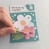 eco-friendly design flower shapes cute sticky notepad