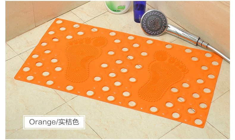 Custom Absorbent Bath Rug Without Rubber Backing For Sale