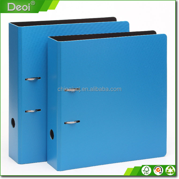 China Golden Supplier High Quality Popular Custom Blue Multifunctional Office 2-D Ring Binder
