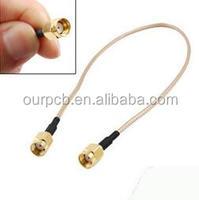Factory Price sma molex RG316 pigtail cable assemblies