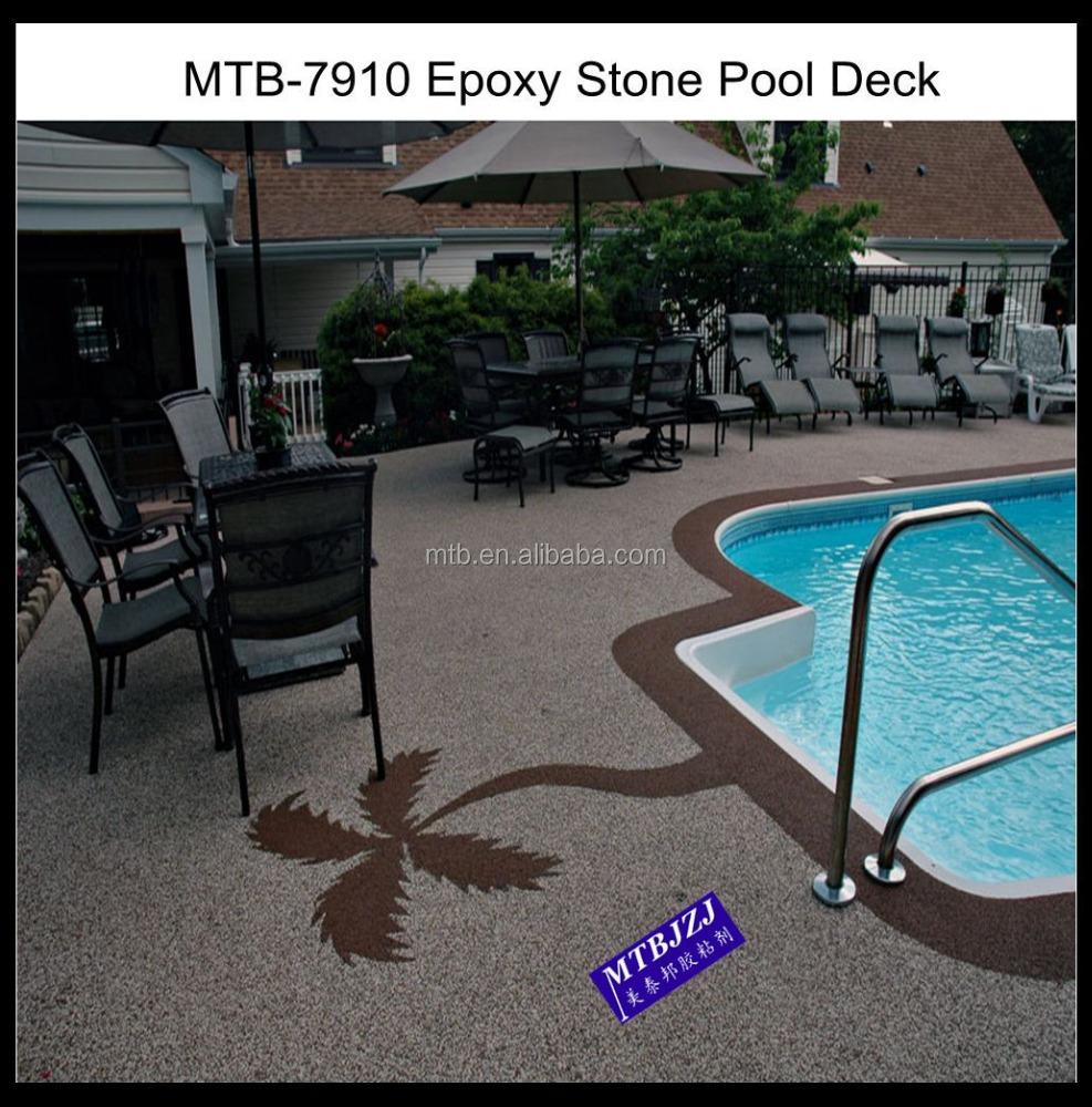 Epoxy Pebblestones Concrete Overlay