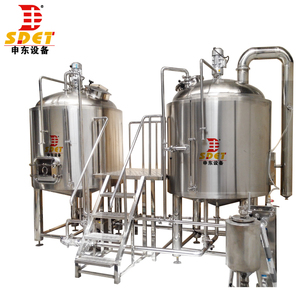 SDET good quality red copper 5 barrel brewing system for sale