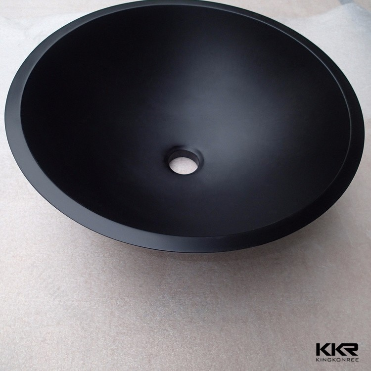 Kkr Matt Matte Black Wash Basin