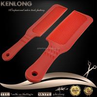 Good quality customised hair triming cutting salon detangling hair comb