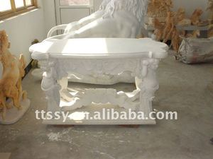 Marble indoor stone table