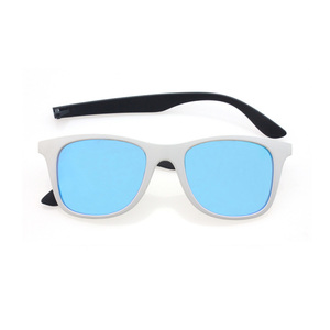 Injection Molded Brand Thin Sunglasses With Changeable Temples