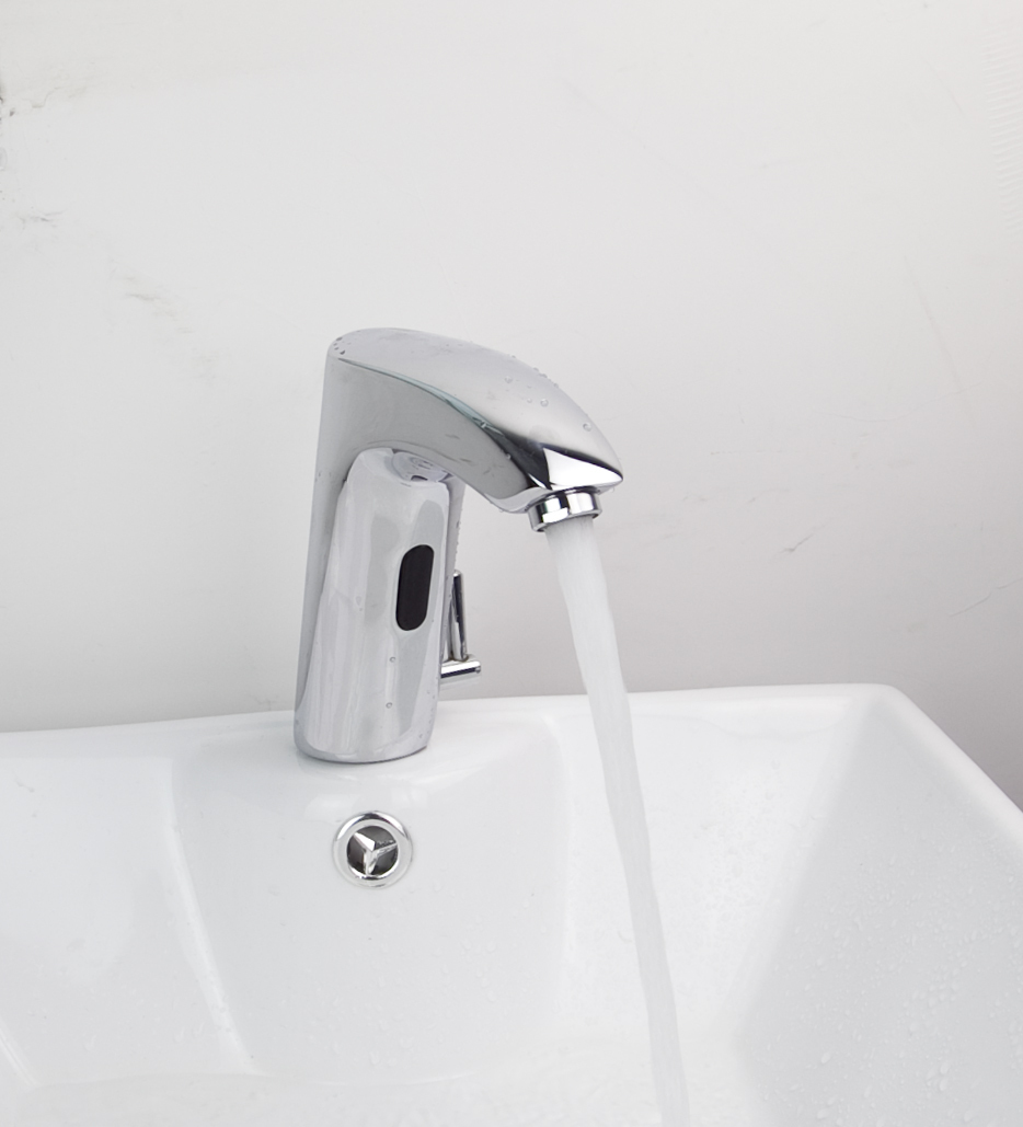 Bathroom Hand Washer Automatic Tap Sensor Faucets Cold Hot