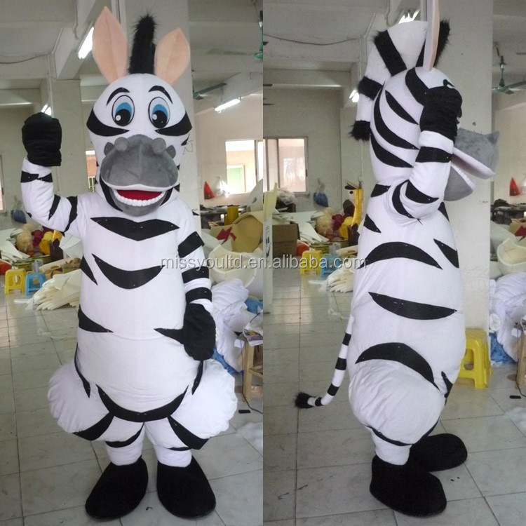 Traje de mascote personalizado de alta qualidade