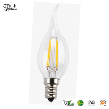wholesale led filament bulb e14 energy saving candle light bulb buy. Black Bedroom Furniture Sets. Home Design Ideas