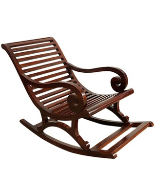 Wooden Rocking Chair Rck0005 Wood