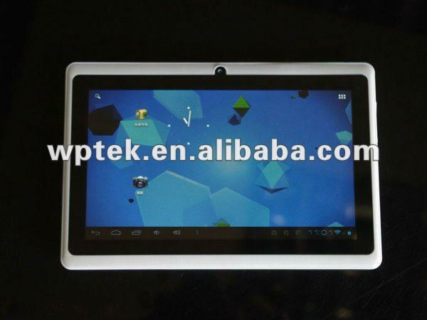 "7"" Android 4.0 Boxchip A13 1.2GHz 512MB 4GB 5points Capacitive Super Slim Tablet PC"
