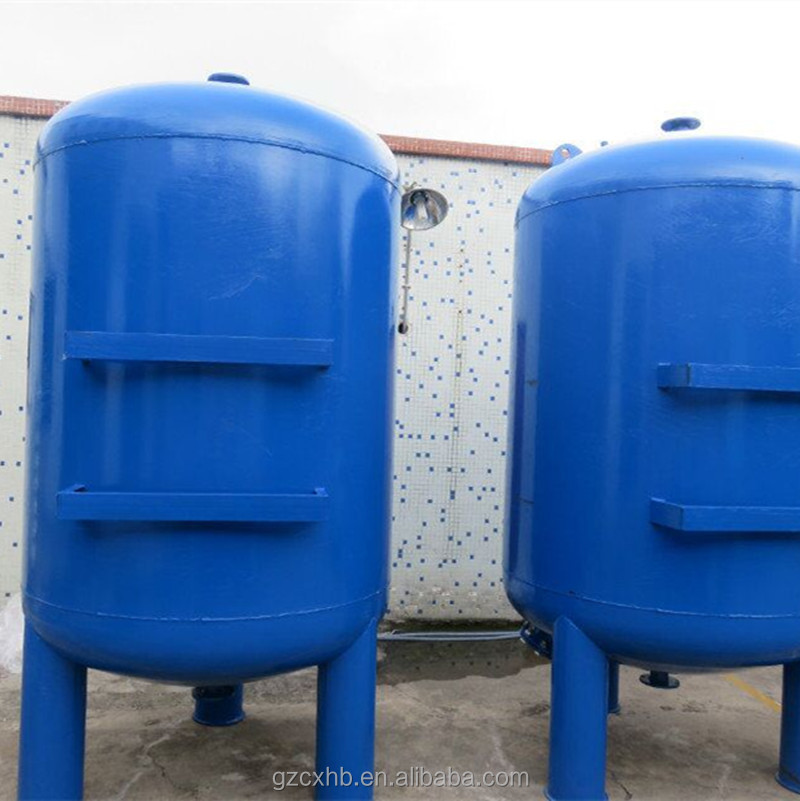 Activated carbon/ sand/ multimedia filter tank price in water pre treatment system
