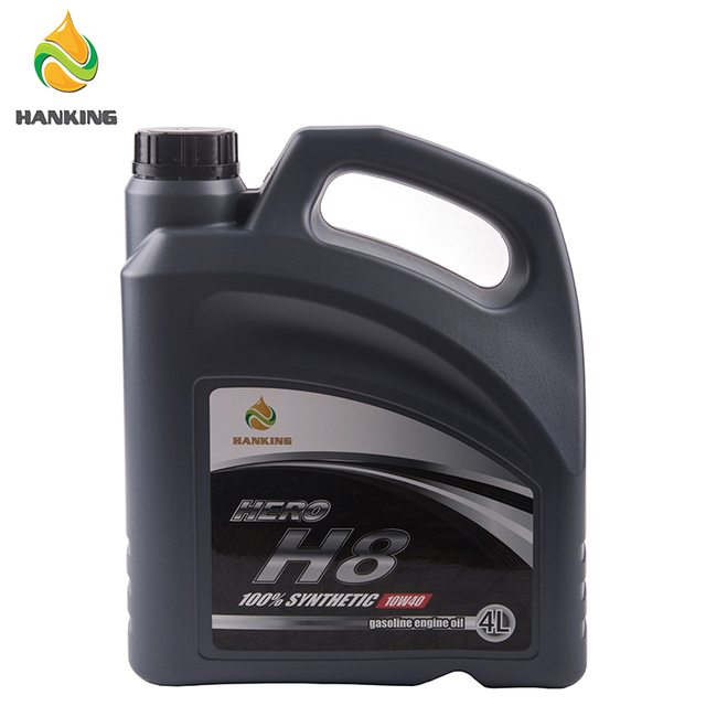 HANKING HERO H8 10W40 SN 4L*4 Car Care Gasoline Engine Oil Brands South Korea