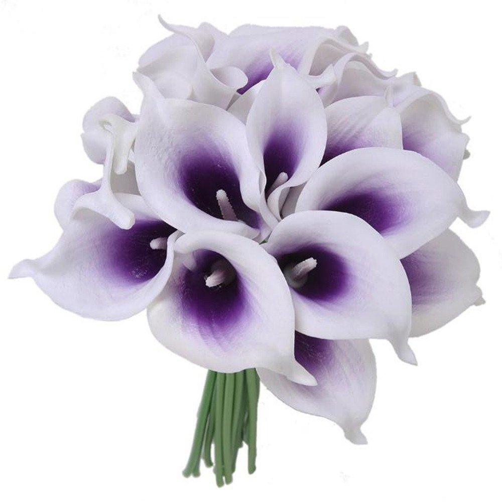 Buy 10pcs Calla Lily Wedding Flowers Home Party Decor Calla Lily