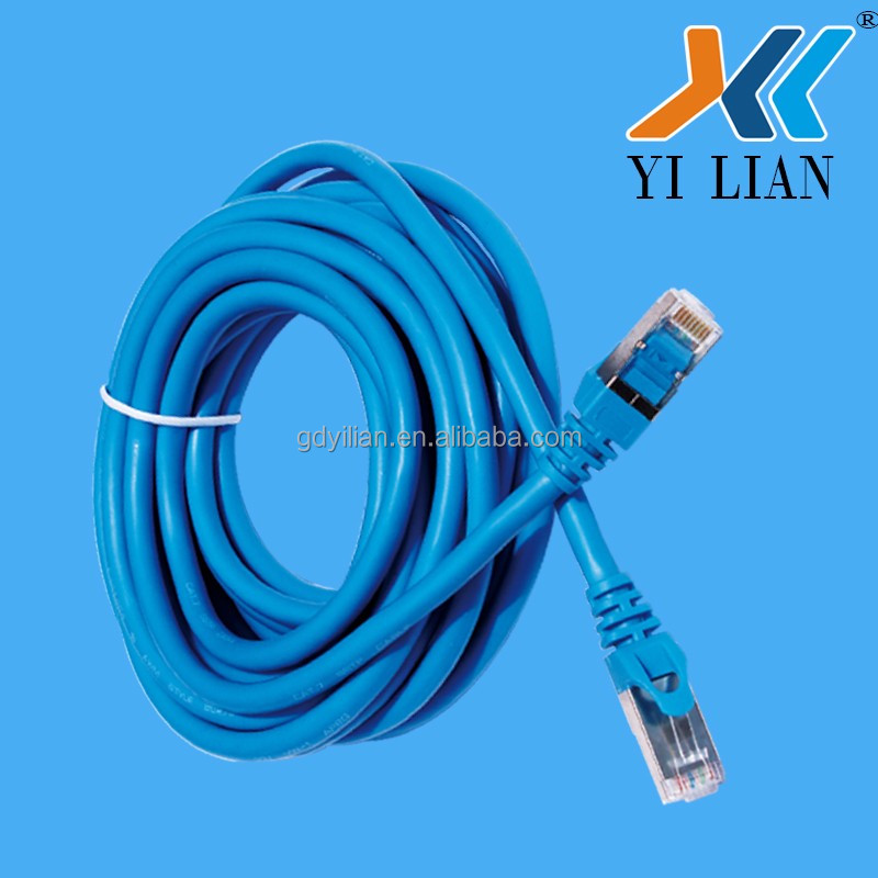 SFTP CAT7 CAT6 Network Cable Lan Cat 7 30cm Patch Cord Cable