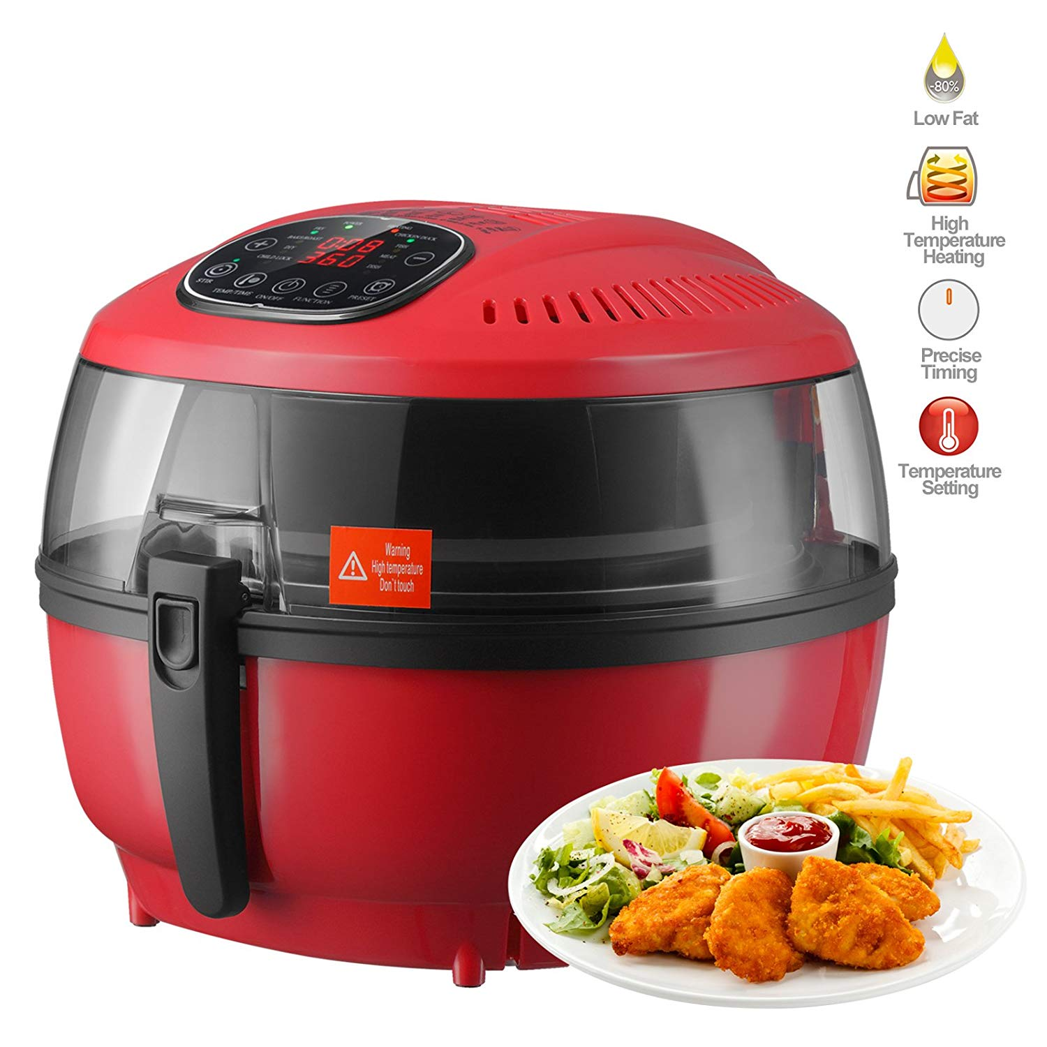 Cheap Cooking Oil Fat Find Deals On Line At Alibabacom Russell Hobbs Purifry Health Fryer Get Quotations Mecor 10qt Electric Air Digital Touch Screen Temperature Timer Control With Presets For Healthy
