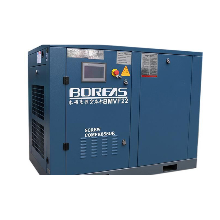 New technique permanent-magnetism frequency-conversion AC Power BMVF screw air compressor machine