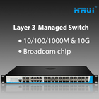 Port Switch 24 Port Switch 24 Port Sfp 4x10g 28 Port Managed L3 Optic Fiber Ethernet Switch