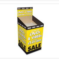 Easy Assemble Love For Cd Advertising Pop Floor Corrugated Display Customized Cardboard Unit Promotion Stand