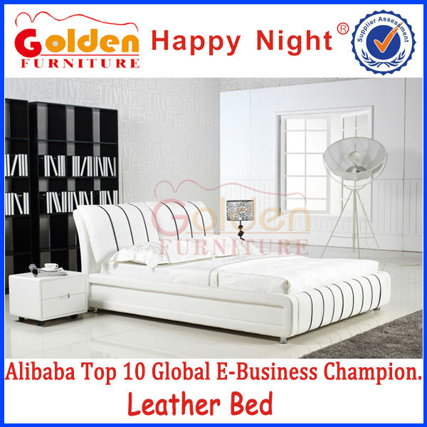 Alibaba american designs modern bedroom furniture california king bed G855