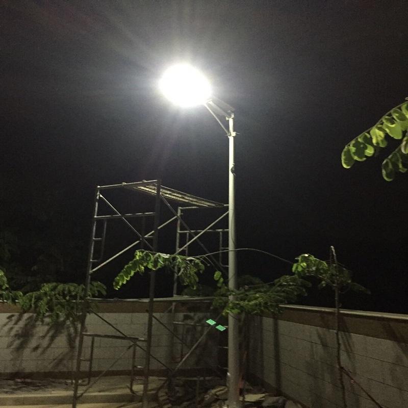 Outdoor Integrated Adjustable Solar Led Garden Street