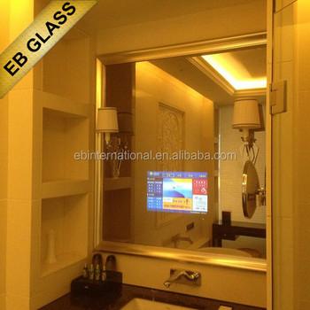 Wall Mounted Lcd Mirror Display Decorative Bathroom Tv Eb Glass