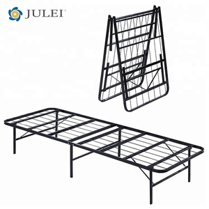 American Style Foldable Platform Super Single Metal Bed Frame