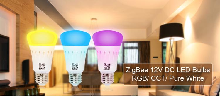 Dc Input E27 12v 6w Color Changing Zigbee Wifi Smart Led Light ...