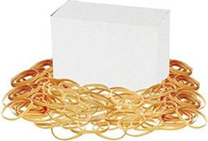 """Rubber Bands,Size 33,1/lb,3-1/2""""x1/8"""",Approx. 150/BX,NL [Set of 4]"""