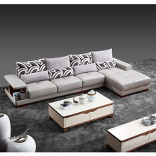 Latest Heated Leather Corner Arabic Majlis Sofa Design,Direct Buy Import Furniture Wooden Frame l Shaped Sofa Sets from China