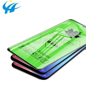 20D Full Curved Protective Glass For Xiaomi Mi 9 8 SE Mi 8 Lite Tempered Screen Protector on For Redmi Note 7 Glass Flim