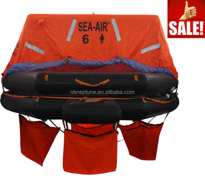 marine boat ship use life raft for ship with 6 person