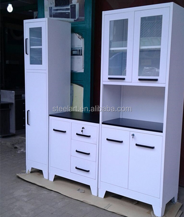 Metal Blanco Gabinetes De Cocina En Kerala En Venta - Buy Product on ...