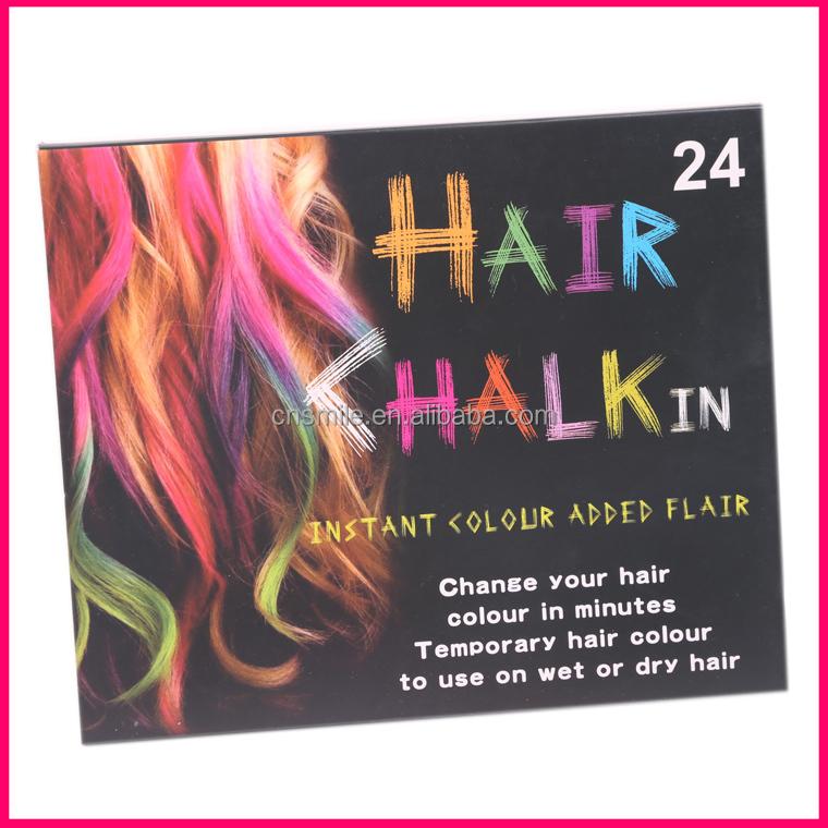 temporaire cheveux chalk fabricant couleur chalk pour cheveux en stock - Coloration Ephemere Cheveux