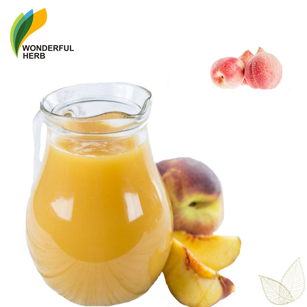 High Quality concentrate Top Purity peach <strong>fruit</strong> juice