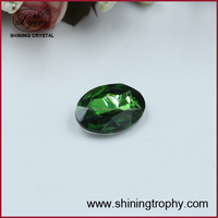 Hotsell green coral crystal accessory bead for decoration