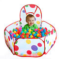 Tent for Children Kids Ocean Ball Pool Outdoor Game Hut Pool Baby Play Tent for Children