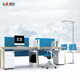 office furniture oem 2 seats desk portable workstation