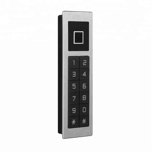 manufacturer anti-theft smart biometric touch screen finger print password code door lock