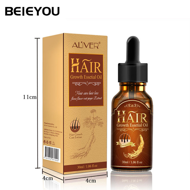 Beieyou Hair Growth Oil Serum Private Label Fast Ginger Hair Serum Growth Essential Oil For Hair Growth фото