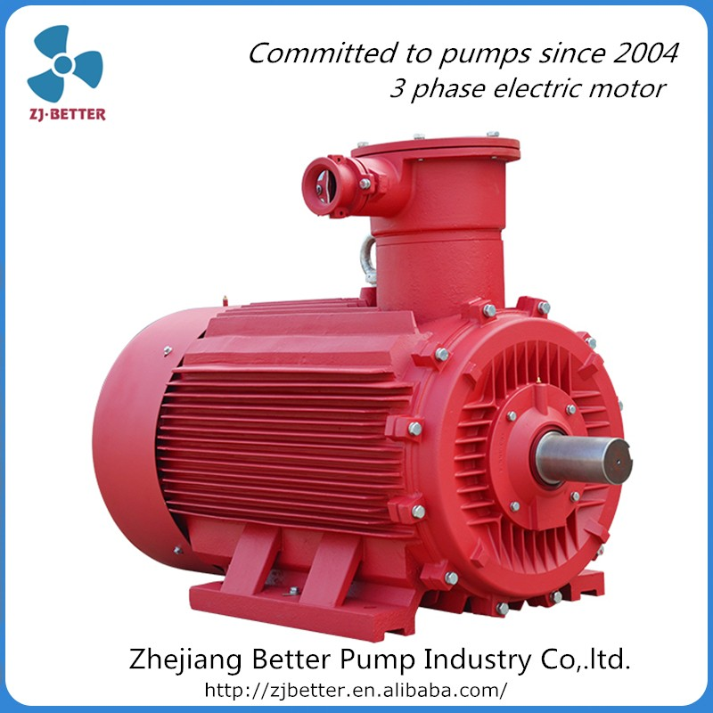 Ybx3 Explosion Proof Water Pump 20hp 3 Phase 10hp Electric
