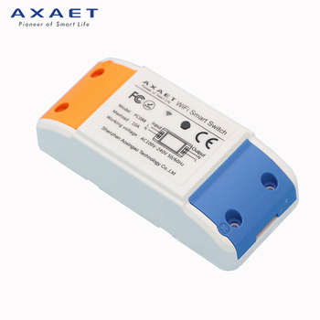 ABS Shell wifi/2g/3g/4g wireless smart power controller smart switch 10A Max.Current