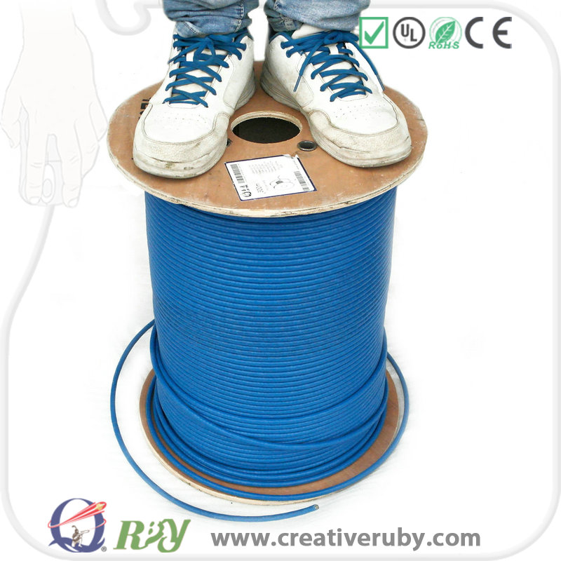 Free Sample, Chinese Manufacturer Bare Copper UTP Cat5e Cable Roll, 305M/1000ft per roll