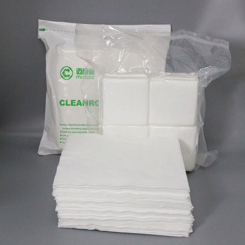 Factory Price Lint Free Industry Cleanroom Wiper Microfiber Cloth